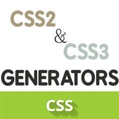 Большая подборка css-генераторов, полезных онлайн-сервисов. Генераторы теней, градиентов, кнопок, css-переходов, трансформаций, ленточек и многое другое.