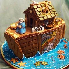 Noah's Ark Gingerbread