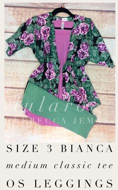 Look how cute is this combo? Bianca, classic tee and leggings