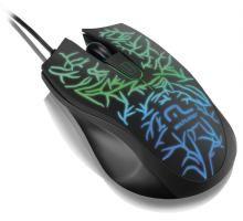 Mouse para Jogos USB com LED - Multilaser MO227