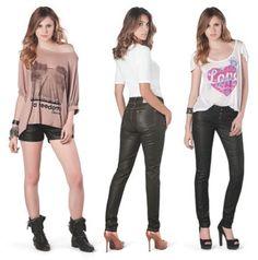 Trend Fashion: Calça de Couro