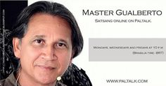 "It is tonight. Rare opportunity to listen to a Master who realized the Self who broke up with the ego illusion and lives in complete Ananda state. For those who are intetested in or just curious about follow the instructions below!  To participate download ""paltalk"" on the app store of your cell phone or download on your computer (www.paltalk.com). Search for the room: ""satsang marcos gualberto"". Every Monday Wednesday and Friday. At 10 p.m. Local time: Brazil.  É hoje. Encontro on line via…"
