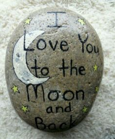 Best painted rock art ideas with quotes you can do (66)