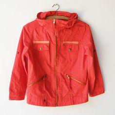 Vintage Kids Jacket / Red Kids Coat