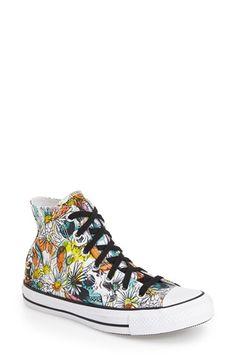 Converse Chuck Taylor® All Star®  Floral  High Top Sneaker (Women)  e44e30e35