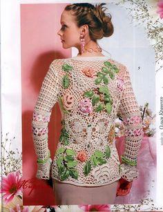 butterflycreaciones / fanaticadel tejido: Moa Fashion Magazine №567