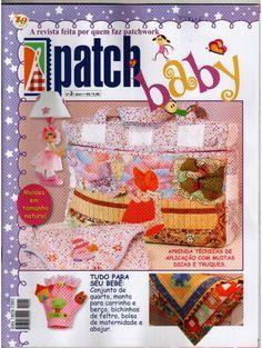 Revistas de manualidades Gratis: Patchwork papa bebes