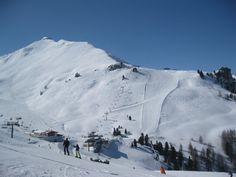 Ischgl, Tirol, Austria - we used to start every morning on that piste