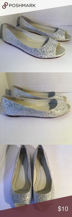 Benjamin Adams London Rhinestone Flats Stunning rhinestone flats in excellent condition. They truly sparkle and shine! Soles have some wear but they are in great condition. IF YOU PURCHASE MORE THEN 1 ITEM, YOU CAN ONLY BUNDLE UP TO 3 ITEMS PER ORDER OR YOUR ORDER WILL BE CANCELED BENJAMIN ADAMS LONDON Shoes Flats & Loafers