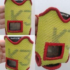 Meldertasche Swissphone Quattro / Feuerwehrschlauch gelb