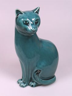 ceramic cat - how beautiful