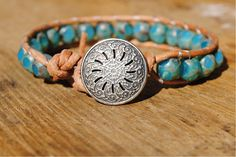Perfect for a summer bracelet.