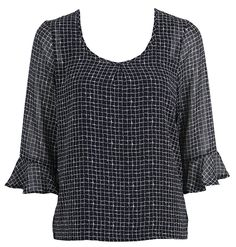 Maddie Top - KILT Super New - NZ made and designed women's fashion and clothing -