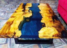 L'abbinamento tra legno e resina da origine a tavoli incredibilmente belli Painting, Art, Art Background, Painting Art, Kunst, Paintings, Performing Arts, Painted Canvas, Drawings