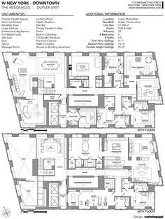 """W Downtown Duplex - The """"Crown Jewel"""" of Downtown New York"""