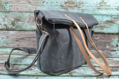 Diaper bag Large Tote for baby gear VEgaN Espresso by DarbyMack