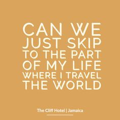 Love this travel quote! There's nothing like exploring a new culture to set a soul alight! Where would you like to explore next? Cliff Hotel, Jamaica Hotels, Funny Travel Quotes, Inspirational Words Of Wisdom, Negril, One Liner, Thought Provoking, Make You Smile, Of My Life
