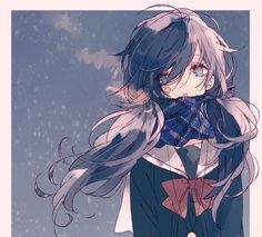 Image about girl in Anime et Mangas by Neko on We Heart It Anime Gifs, Anime Oc, Fanarts Anime, Anime Chibi, Manga Anime, Kawaii Anime Girl, Anime Art Girl, Fille Anime Cool, Art Noir