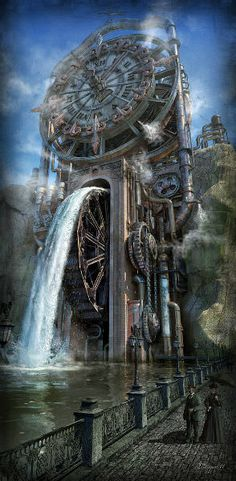 The Time Machine Artist: Dmitriy Filippov Why it is stunning: Because some clocks never count the time
