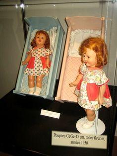GÉGÉ 1950 Summer Dresses, Dolls, Baby Dolls, Vintage Dolls, Summer Sundresses, Puppet, Doll, Baby, Summertime Outfits