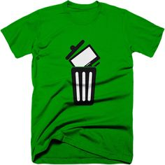 Trash the TV tshirt.  Point out to people that the brainwash box in there living room is best to be avoided with our 'Trash the TV' t-shirt  #binthetv #propaganda #mainstreammedia #truth #Truthtshirts  TRUTHTSHIRTS.COM