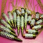 Crystal Shotgun Bullet Necklace  MUST HAVE THIS!!