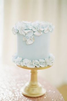 18 Single Tier Wedding Cakes that will Bring you Joy! • Mrs2Be