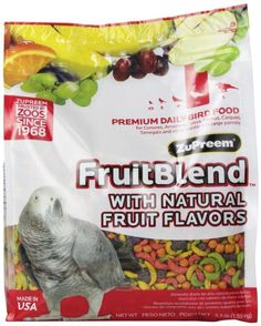 Fruit Blend Diet Wild Bird Food Parrot Parakeet Wild Bird Feed 3 Pounds…