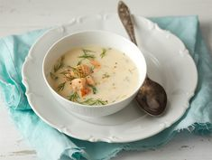 Savukalakeitto | Valio Scandinavian Food, Cheeseburger Chowder, Soup Recipes, Seafood, Eat, Ethnic Recipes, Finland, Countries, Soups
