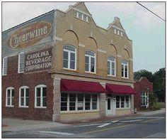 Salisbury NC...home of Cheerwine