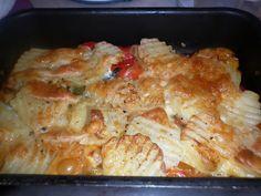 Mangio sano........mangio Vegano! (e mi diverto): Una teglia colorata e saporita