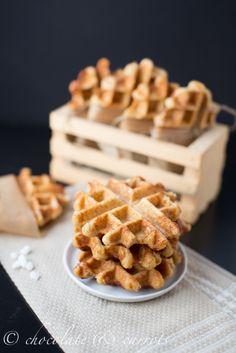Whole Grain Liege Waffles