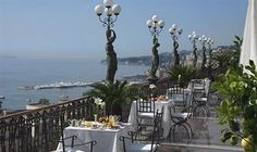 Grand Hotel Parkers   Corso Vittorio Emanuele 135, Naples,  Italy