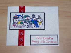 Holiday Lineup Cards by saraeddy321 - Cards and Paper Crafts at Splitcoaststampers
