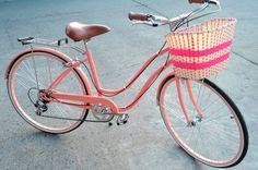 Bicicleta Vintage (Bike Retrô) Rosa