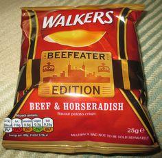 FOODSTUFF FINDS: Beefeater Edition Beef & Horseradish Crisps (Waitrose) [By @SpectreUK]