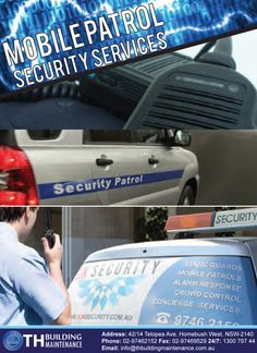 When it comes to your property, you probably will want to make sure that you have the finest protection available. The mobile patrols from TH Building Maintenance will be able to easily provide this. In turn, you will get a patrol car that will serve as a highly effective deterrent that will keep people off of your site and stop theft in its tracks. Our team has several years of experience and are able to work out the most effective route for our moving patrol car to take.