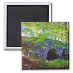 Old Stone Bridge in the Forest, is a painting of a local bridge in Virginia. multiple sizes are available. Great for home or office decor. Also a great gift idea for holidays, birthdays, anniversary, and house warming.