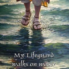 Jesus is my lifesaver. Jesus is my lifesaver. Jesus is my lifesaver. Bible Quotes, Me Quotes, Godly Qoutes, Great Quotes, Inspirational Quotes, Motivational, Images Bible, Walk On Water, Water 3