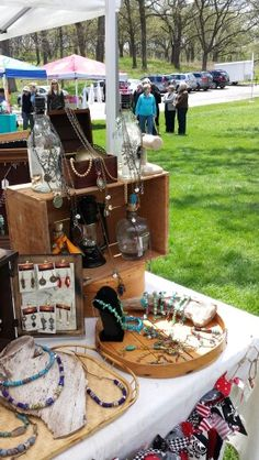 Pretty day at Olin Park- outdoor craft show