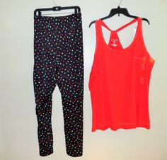 NWT Pajamas set CACIQUE 22/24, stretch, elastic, new with tag intimates tank top #Cacique #PajamaSets