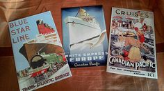 Hey, I found this really awesome Etsy listing at https://www.etsy.com/listing/249620769/ship-retro-tin-signs-3-set-vintage-old
