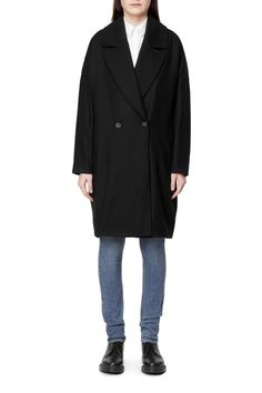 Weekday Cece Coat in Black