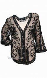 Pretty Angel Clothing Rainey Bolero In Black