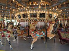 Carousel at Glen Echo Park, Maryland.