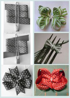 Easy DIY Bow bows diy crafts home made easy crafts craft idea . Diy Crafts For Home easy diy crafts for home Diy Home Crafts, Easy Diy Crafts, Arts And Crafts, Ribbon Crafts, Ribbon Bows, Ribbons, Diy Ribbon, Diy Flowers, Fabric Flowers