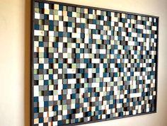 Wooden Kaleidoscope Murals : Modern Textures