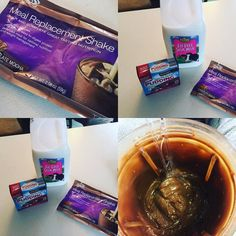 BEST protein pudding EVER!!!! 2 c skim milk, 1 pk of Sugar Free Pudding mix and 1 meal replacement shake of your choice.AdvoCare Meal Replacement Shakes are a GREAT VALUE at just over $3 per serving for a complete meal! $44.95 for 14 shakes at 220 calories and perfectly balanced with 24 grams of protein, 24 grams of carbs and 3 grams of fat.