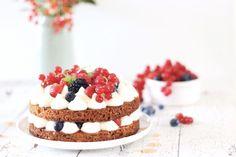 Recept: Koolhydraatarme krokante mascarpone taart   Steviala Blog Brownie Cupcakes, Coconut Shrimp, Stevia, Fodmap, Cheesecake, Keto, Blog, Desserts, Sweet