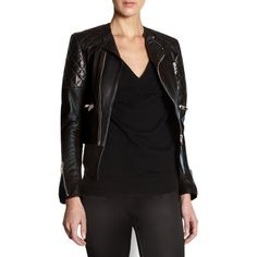 Balenciaga new biker jacket @Barneys New York